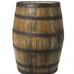 wodden barrel